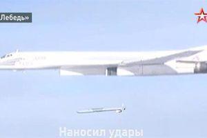 Tu-160 lộ giá phóng ổ xoay khi phóng tên lửa hành trình