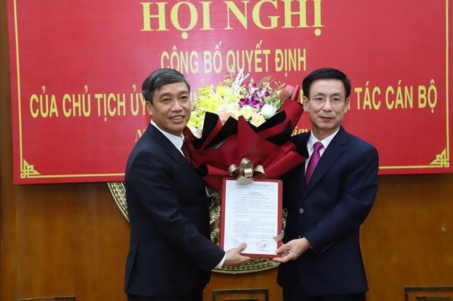 Chân dung tân Giám đốc sở Kế hoạch và Đầu tư tỉnh Nam Định
