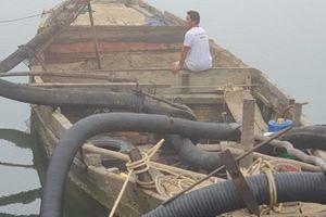 Kịp thời ngăn chặn nạn khai thác cát trái phép trên các tuyến sông