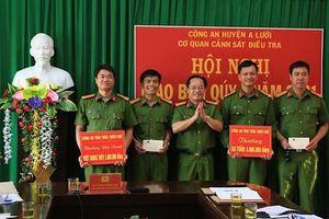 Khen thưởng các đơn vị xuất sắc triệt xóa thành công tụ điểm ma túy