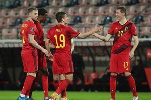 Bỉ thắng đậm nhất vòng loại World Cup 2022 châu Âu