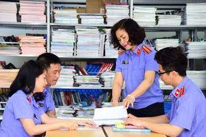 Nét đẹp màu áo thiên thanh ở trường Đại học Kiểm sát Hà Nội