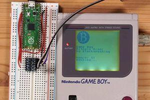 Máy đào Bitcoin 'chế' từ máy Game Boy