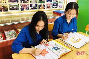 Viết 'Nhật ký làm theo lời Bác', học sinh Hà Tĩnh nhân lên nghìn việc tốt
