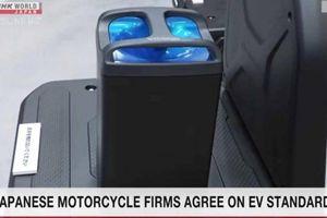 'Tứ đại gia' xe máy Nhật Bản bắt tay chế tạo pin dùng chung