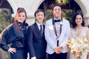 Chị Bé Heo tươi tắn, ăn vận trẻ trung đi đám cưới 1 người thân