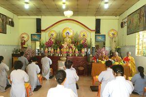 TP.HCM: 30 Phật tử huyện Cần Giờ tham gia khóa tu tại chùa Hải Đức