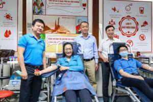 'Blouse trắng – Trái tim hồng' thu về hơn 6.500 đơn vị máu tiếp nhận tại 40 cơ sở y tế