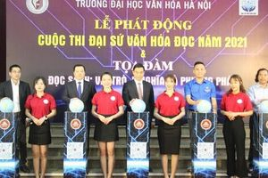 Đại học Văn hóa Hà Nội phát động Cuộc thi Đại sứ Văn hóa đọc năm 2021