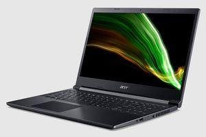 Acer Aspire 7 - laptop gaming nhỏ gọn giá 18 triệu đồng