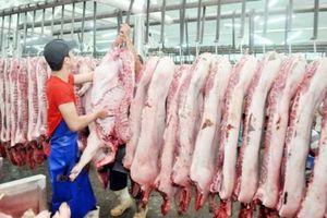 Giá bán thịt heo bình ổn giảm 3.000 - 16.000 đồng/kg