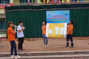 Thái Nguyên: Buổi ngoại khóa thiết thực tìm hiểu Ngày Nước thế giới và Giờ Trái đất