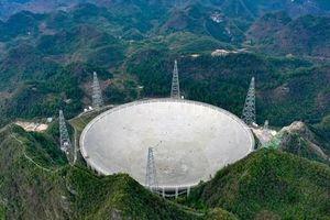 Kính viễn vọng Thiên Nhãn khổng lồ ở Trung Quốc mở cửa cho thế giới