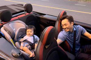 Ngắm ô tô sang chảnh của 'rich kid' 6 tháng tuổi nhà Cường đô la