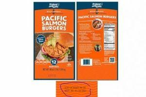 Phát hiện nhiều mảnh kim loại trong sản phẩm, Burger Pacific Salmon bị thu hồi