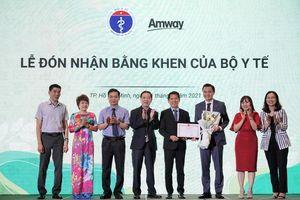 'Nutrilite Power of 5' đóng góp cải thiện dinh dưỡng cho trẻ em Việt