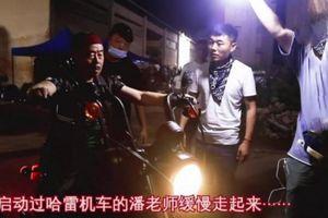 Phan Trường Giang bị mô tô nặng 400 kg đè trên phim trường sức khỏe ra sao?