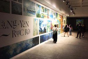 Triển lãm 'Lặng yên rực rỡ': Nơi những tuyệt tác hội họa bừng sáng trong bóng tối