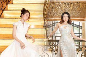 Yan My - Lý Kim Thảo lộng lẫy với đầm trắng trên thảm đỏ đại hội Đại biểu Hội Người mẫu Việt Nam