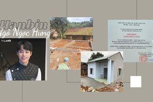 Nối dài chuỗi hoạt động thiện nguyện, fandom Hanbin Ngô Ngọc Hưng xây nhà Hạnh Phúc cho học sinh mồ côi