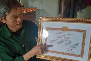 Cựu chiến binh hiến hơn 20.000 m2 đất cho phong trào nông thôn mới
