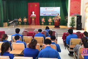 Ngày hội thanh niên với văn hóa giao thông tại huyện Thọ Xuân