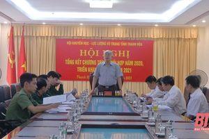 Hội Khuyến học và Lực lượng vũ trang Thanh Hóa triển khai nhiệm vụ năm 2021
