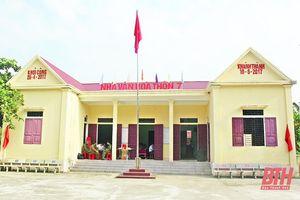 Huyện Triệu Sơn xây dựng và nâng cao chất lượng đời sống văn hóa