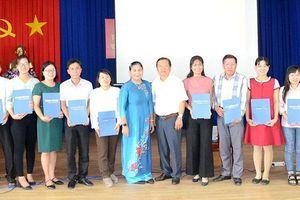Bế giảng và trao Chứng chỉ Quốc gia tiếng dân tộc thiểu số Khmer