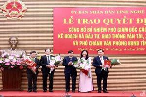 Kiện toàn nhân sự lãnh đạo tại Hà Nội, Nghệ An và Bến Tre