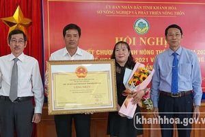 Khánh Hòa tổng kết chương trình xây dựng nông thôn mới