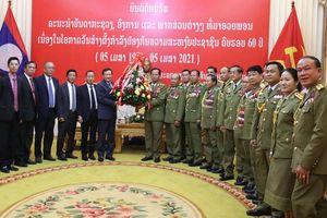 Đẩy mạnh hợp tác lực lượng Công an Việt Nam và Lào