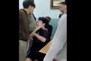 Công an TP HCM lên tiếng về clip bảo vệ dân phố đánh 2 thiếu niên trong trường Nguyễn Văn Tố
