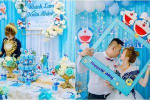 Hâm mộ Doraemon, con dâu trang trí ăn hỏi khác biệt, mẹ chồng phản ứng đầy bất ngờ