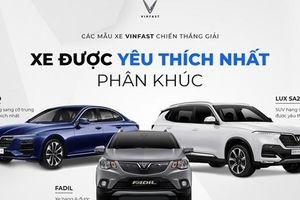 VinFast khẳng định sức hút qua giải thưởng 'Xe của năm 2021'