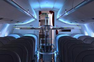 Thử nghiệm robot khử trùng trên máy bay