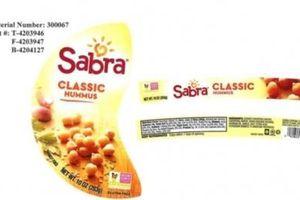 FDA phát hiện sốt đậu gà 'Classic Hummus' có nguy cơ nhiễm khuẩn Salmonella