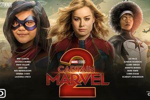 Captain Marvel 2 ấn định ngày khởi quay