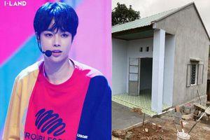 Fan Việt của Hanbin (I-LAND) mạnh tay chi 160 triệu xây nhà tình thương cho học sinh mồ côi, chờ ngày thần tượng debut
