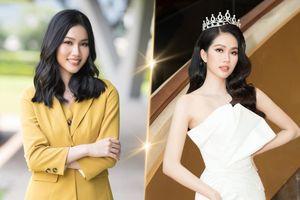 Phương Anh đẹp thanh lịch, giao tiếp chuẩn 'nuốt mic' sẵn sàng chinh chiến Miss International