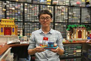 Chàng trai Việt Nam nổi tiếng với bộ sưu tập Lego 'khủng' lên báo nước ngoài