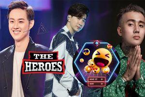The Heroes tung gợi ý về chiến binh đầu tiên: Mặt cười sẽ là ĐạtG – Thanh Duy hay Chi Dân?