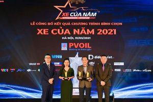 VinFast đoạt 3 giải Nhất trong cuộc bình chọn 'Xe của năm 2021' tại Việt Nam