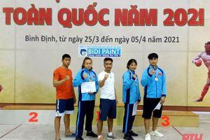 VĐV Thanh Hóa thi đấu thành công tại Giải vô địch Cúp kick-boxing toàn quốc năm 2021
