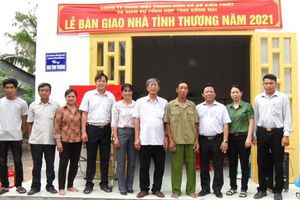 Huyện Xuân Lộc: Thêm 3 căn nhà tình thương được trao tặng cho hộ nghèo