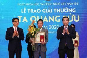 Bốn nhà khoa học được đề cử giải thưởng Tạ Quang Bửu năm 2021