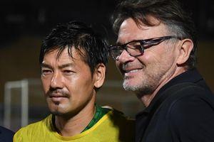 Matsui gặp lại thầy cũ ở đội tuyển Nhật Bản