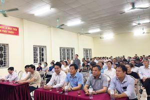 100% cử tri nơi cư trú tín nhiệm giới thiệu Bí thư Quận ủy Hà Đông ứng cử đại biểu HĐND TP Hà Nội