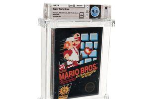 Trò chơi Super Mario Bros tiếp tục được bán với giá kỷ lục 660.000 USD