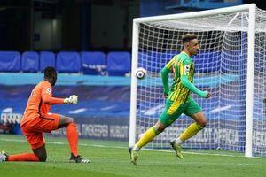 Chelsea thất thủ 2-5 trước West Brom trên sân nhà